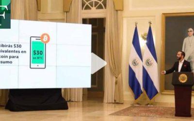 Con 200 bitcóins Bukele introduce a El Salvador en el mundo de las criptomonedas