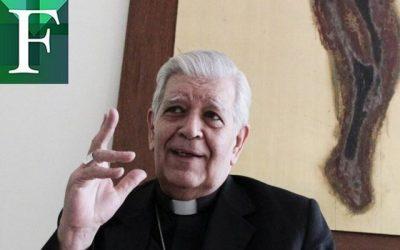 Cardenal Jorge Urosa Savino en terapia intensiva