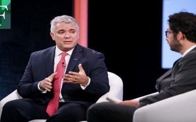 Iván Duque anunció la regularización a 1 millón de venezolanos en primer semestre de 2022