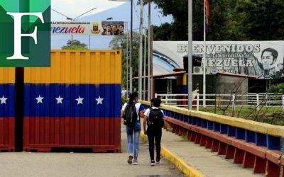 Más de 200 estudiantes venezolanos cruzaron la frontera con Colombia para volver a clases