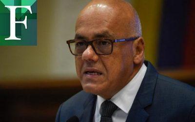 EE UU advierte de más sanciones contra el gobierno y así le responde Jorge Rodríguez
