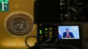 Maduro pide ayuda a la ONU para el cese de sanciones y el logro de un acuerdo «global» con la oposición
