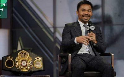 Boxeador Manny Pacquiao se declara candidato a presidencia de Filipinas