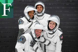 Cápsula de SpaceX despega en EE UU con la primera misión de civiles al espacio