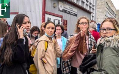 Estudiante mató a ocho personas en un tiroteo en una universidad de Rusia
