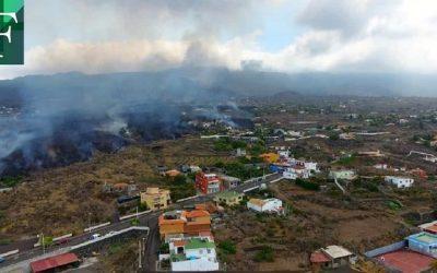 Lava del volcán en Canarias ha destruido 320 edificaciones y 153 hectáreas