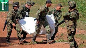 Al menos diez disidentes de FARC mueren en enfrentamientos con militares en Colombia